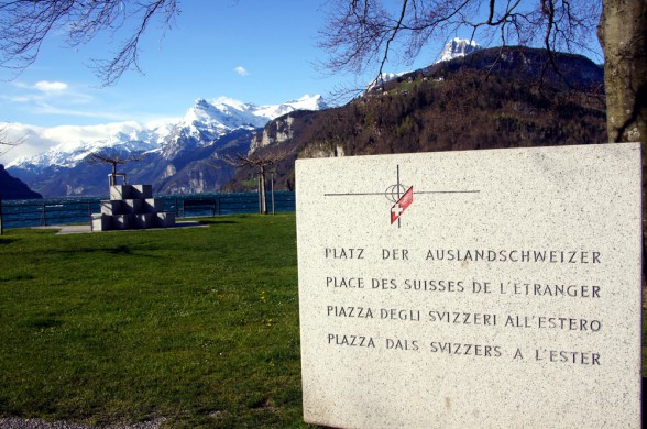 Entrance to the Area for the Swiss Abroad